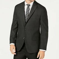 Michael Kors Men's Classic-Fit Sport Coat Charcoal/purple 36r / 36 Regular Photo