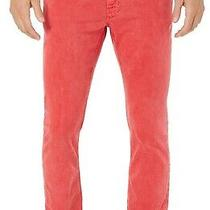 Michael Kors Mens Jeans Red Size 32x30 Parker Zip-Fly Slim Fit Stretch 98- 144 Photo