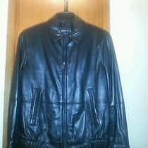 Michael Kors Mens Leather Jacket Original