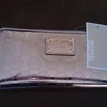 Michael Kors Metallic Wallet Photo