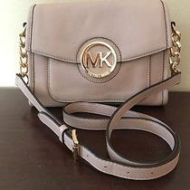 Michael Kors Mk Margo Blush Colored Handbag With Chain Detail- Stunning - W/tag Photo