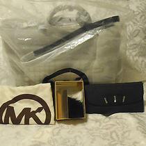 Michael Kors Natalia Handbag Fur Pompom Keychain Charm Ring Bow Wallet Lot Photo