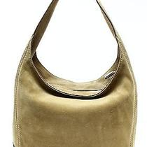 Michael Kors New Beige Desert Suede Lena Large Shoulder Bag Purse 328 042 Photo
