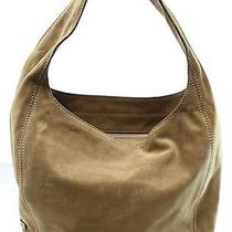 Michael Kors New Beige Desert Suede Lena Large Shoulder Bag Purse 328 009 Photo