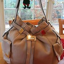 Michael Kors Off White Hobo Handbag Photo