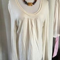 Michael Kors Off White Sweater Size Large Photo