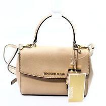 Michael Kors Pink Blush Saffiano Extra Small Ava Crossbody Bag Purse 178-010 Photo