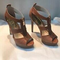 Michael Kors Platform Healed Shoes Size 6.5 5 Inch Heal One Inch Platform Photo