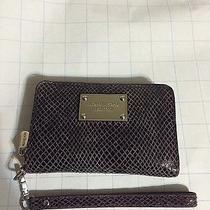 Michael Kors Purple Leather Wallet Iphone 5 Photo