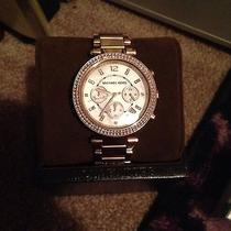 Michael Kors Rose Gold Watch Photo