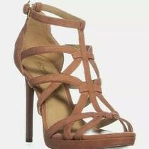 Michael Kors Sandra Blush Suede Platform Heels sz.10 New Photo