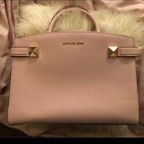 Michael Kors Satchel Bag Medium - Blush Photo