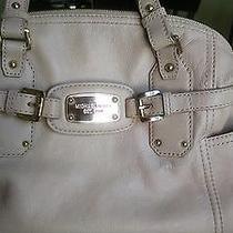Michael Kors Satchel Shoulder Handbag Blush Pink Photo