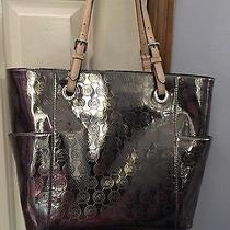 Michael Kors Silver Tote Photo