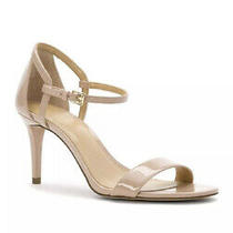 Michael Kors Simone Mid Sandal Patent Light Blush Size 10m Nib Photo
