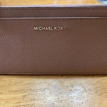 Michael Kors Slim Card Wallet Blush Photo