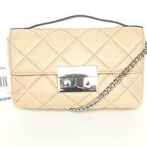 Michael Kors Sloan Messenger Pink Blush Handbag Sm Quilted Leather 258.00 Photo