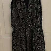 Michael Kors Snakeskin Pattern Dress Size 0 Photo