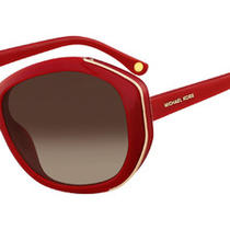 Michael Kors Sunglasses Mks291 Portia 604 Burgundy 62mm Photo
