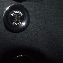 Michael Kors Sz Xl Black Dress W Silver Buttons W Name Photo