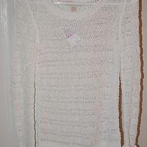 Michael Kors Tape Yarn Knit Crewneck Sweater New (Xxs) Photo