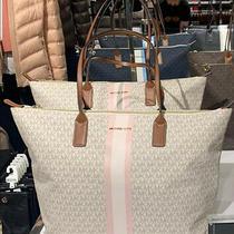 Michael Kors Top Zip Tote Travel Large Logo Laptop Bag Satchel Baby Diaper Bag Photo