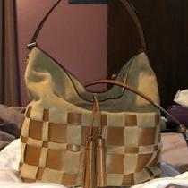 Michael Kors Vivian Lg Leather and Suede Hobo Handbag Photo