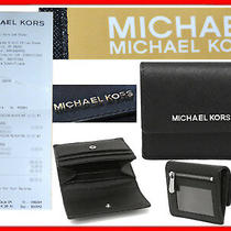 Michael Kors Wallet for Man 100% Leather  Until - 80 % Mk04 Tod1 Photo