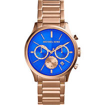 Michael Kors Watches Bailey Women's Watch - Rose Gold Photo