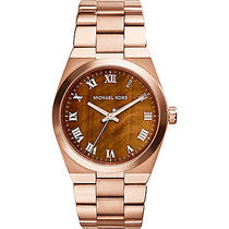 Michael Kors Watches Channing Women's Watch - Rose Gold Photo