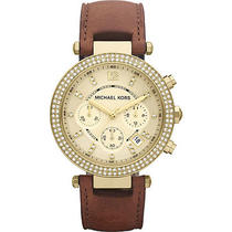 Michael Kors Watches Parker - Brown Photo
