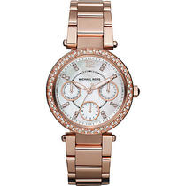 Michael Kors Watches Parker - Rose Gold Metal Photo