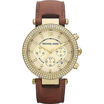 Michael Kors Watches Parker Watch - Brown Photo