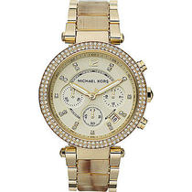 Michael Kors Watches Parker Watch - Horn Photo