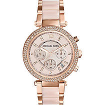 Michael Kors Watches Parker Women's Watch - Rose Gold Photo