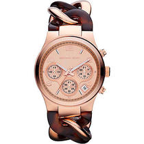 Michael Kors Watches Runway Twist - Tortoise/rose Gold Photo