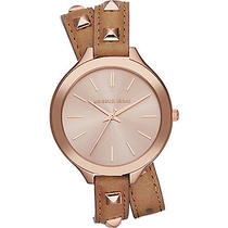Michael Kors Watches Slim Runway - Rose Gold Case/ Photo