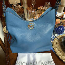 Michael Kors Women's Bag Bowery Hobo Shoulder Features Leather Medium Handbags Photo