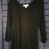 Michael Kors Women's Black Top Size M Photo