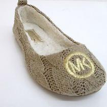 Michael Kors Women's Jet Set Ballet Cable Knit Size 6 Photo