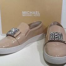Michael Kors Women's Michelle Size 8.5 M Light Blush Patent Slip on Shoes X2-369 Photo