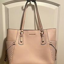 Michael Kors Womens Blush Pink Handbag Stars on Side  Photo