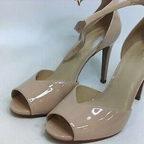 Michael Kors Womens Cambria Sandal Leather Peep Toe Special Blush Size 9.5 Fgn Photo