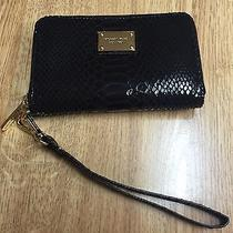 Michael Kors Zip Case Iphone 4 Black Pytho Photo