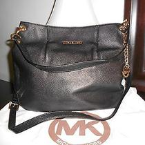 Michael Michael Kors Bedford Large Hobo-Black Leather Photo