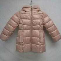 Michael Michael Kors Girl's Us 5/6 Faux Fur Puffer Coat Blush Sample Photo
