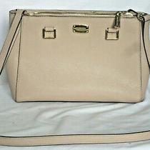 Michael Michael Kors Leather Crossbody Bag - Blush Photo