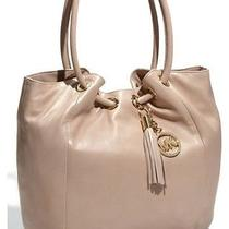 Michael Michael Kors 'Ring' Tote Md Leather Shoulder Bag Nwt Blush Pink Photo
