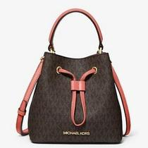 Michael Michael Kors Suri Small Logo Crossbody Bag - Brown Blush. Photo