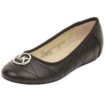 Michael Michael Kors Toddler/youth Faye Flats in Black 3 W Us Photo